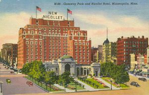 Nicollet Hotel - 1925 post card